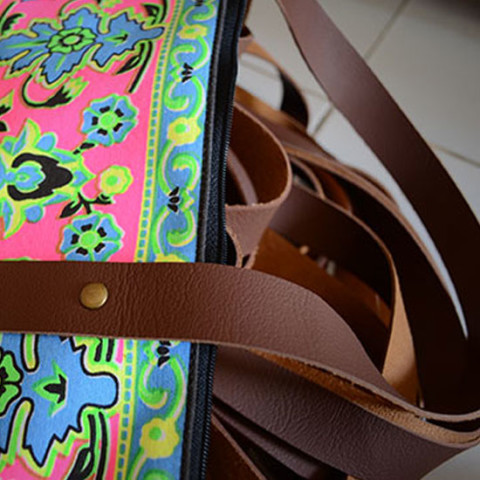 Colourful Bag Straps