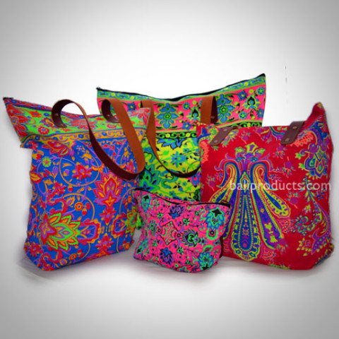 Selection of Colourful Bags