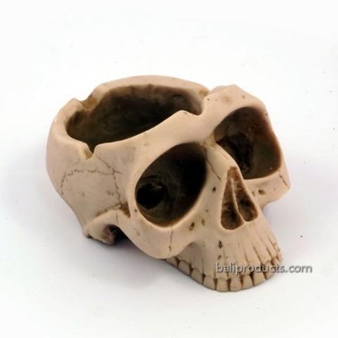 Double-Skull Ashtray