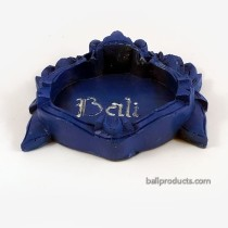 Blue Bali Barong Ashtray