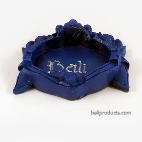 Blue Bali Barong Ashtray