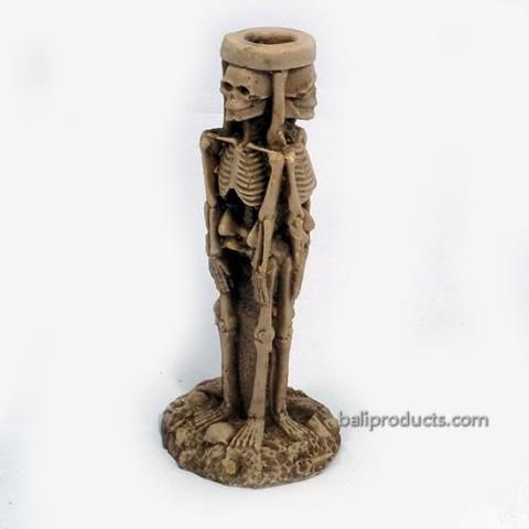Sceleton Candle Holder