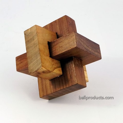 Wood Puzzle Ball 2
