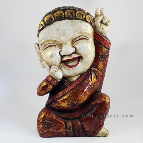 Laughing Buddha Red