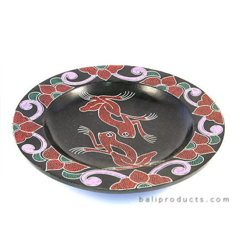 Frog Wooden Plate