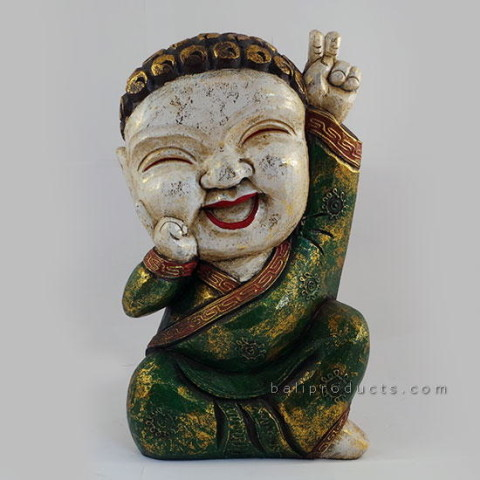 Laughing Buddha Green