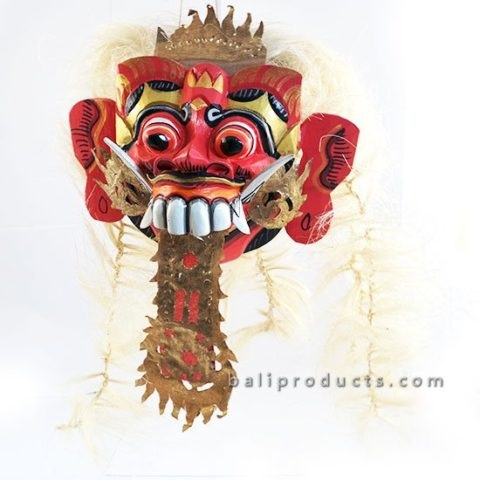 Rangda Mask with Hair