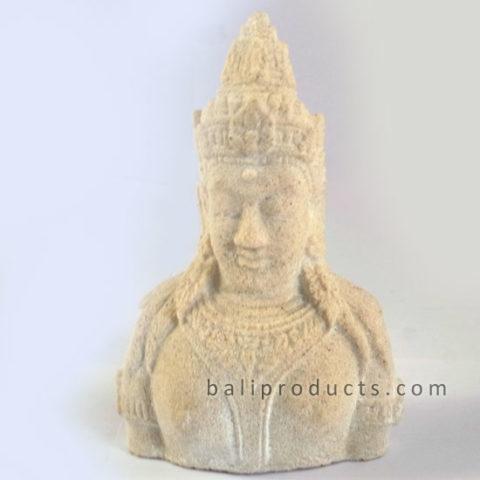 Stone Wisnu Head 15cm