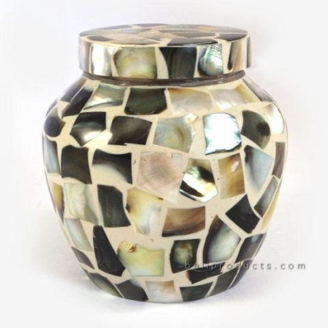 Shell Mosaic Container