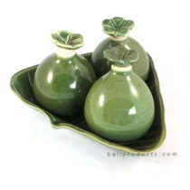 Ceramic Oil Container Set
