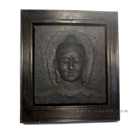 Plaque Buddha Head