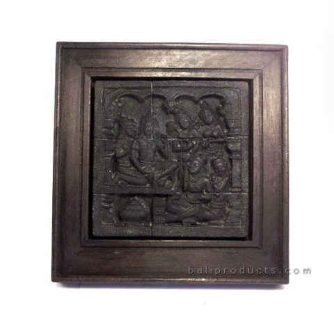 Borobudur Relief Plaque