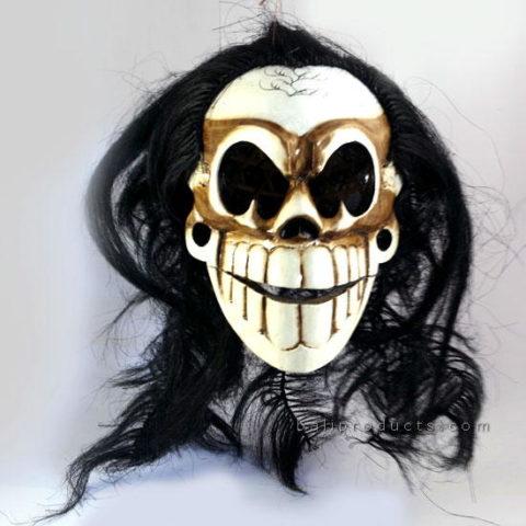 Hairy Skull Mask