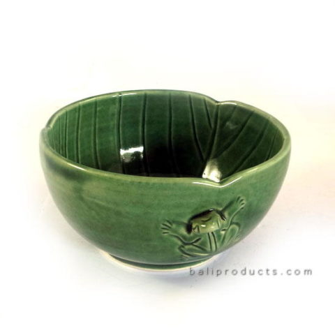 Ceramic Round Frog Bowl