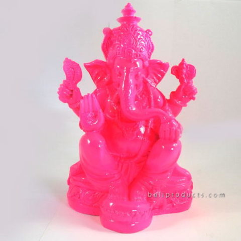 RESIN GANESH PINK L