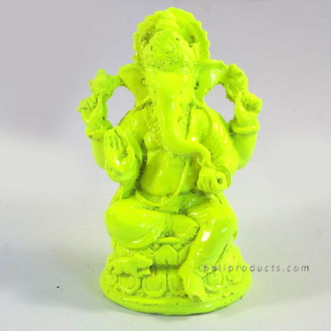 Resin Ganesh Green