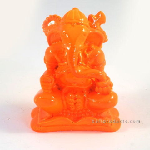 Resin Ganesh Orange