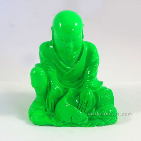 Resin Monk Green