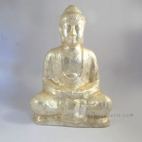 Capiz Shell Buddha Sitting