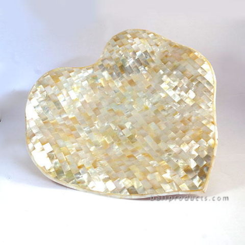 Mop Heart Tray Natural