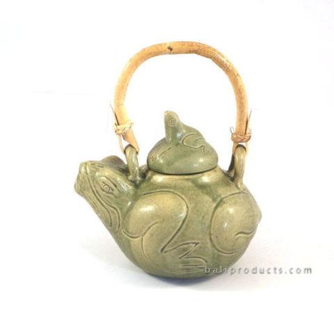 Ceramic Tea Pot Frog