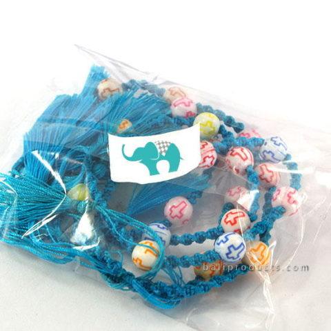 Set 5 Motte Bracelet Tassle