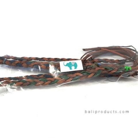 Leather Weaving Bracelet Set 5