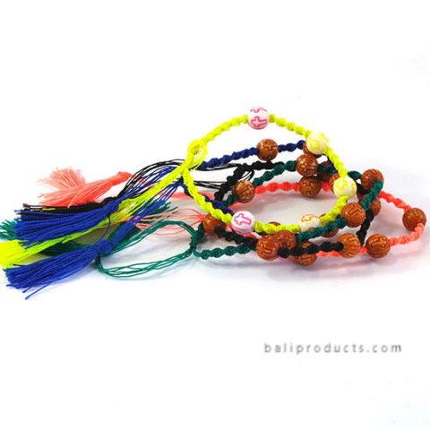 Set 5 Bead Multi Colors Bracelet