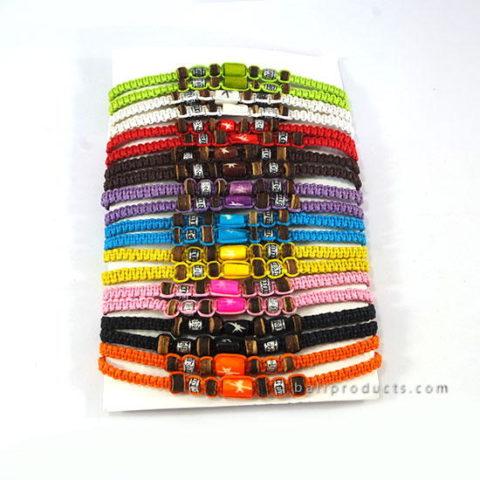 Set 20 Bracelet Leather Multi Color
