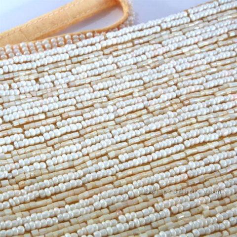 Beads Pouch Plain Line