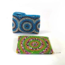 Beads Pouch Small Circle Motive