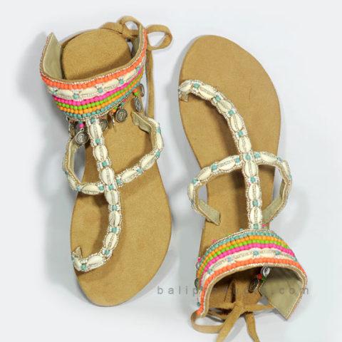 Bali Bead Sandal Multi Color Motive