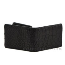 Canggu n co Man Wallet Crocodile Leather Black