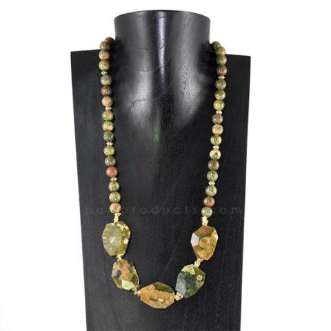 Necklaces Gemstone Yellia #11