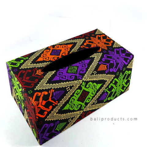 Songket Tissue Box