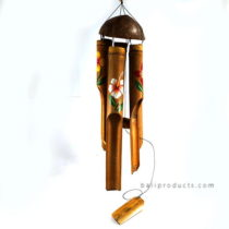 Bamboo Wind Chime In Coco Hanger